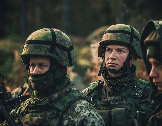 The Finnish Constitution stipulates every male Finnish citizen is obligated to participate in national defence.