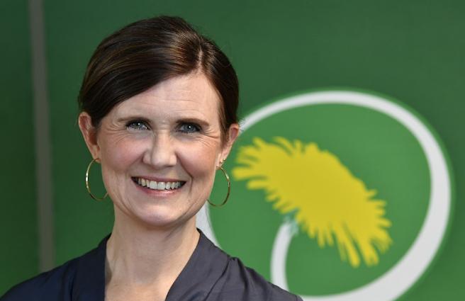 Miljöpartiets nya kvinnliga språkrör Märta Stenevi