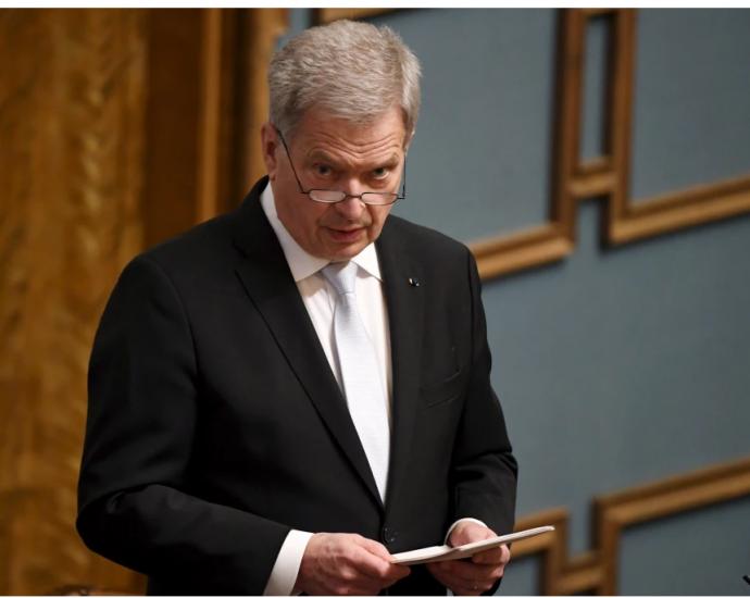 President Niinistö betonade temat tillsammans i sitt tal inför riksmötets öppnande
